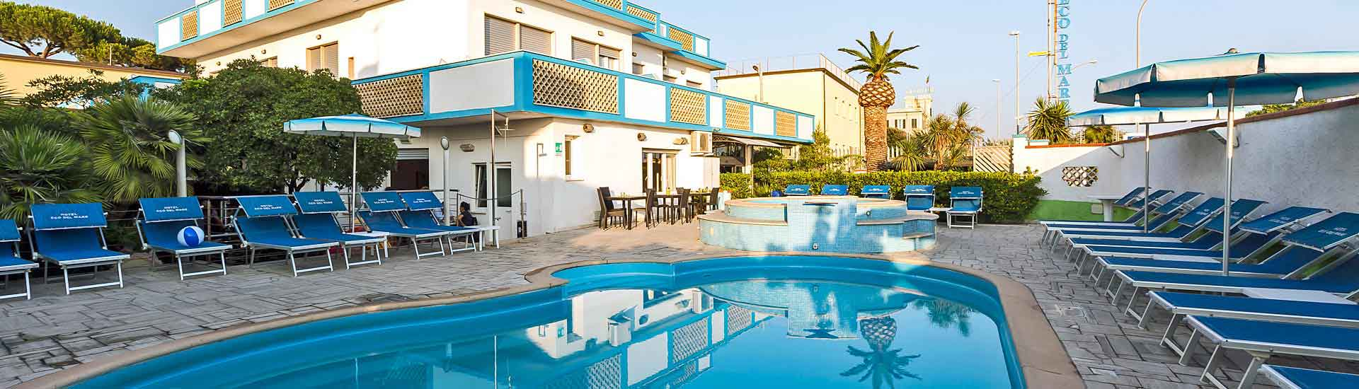 Swimming Pool - Hotel Eco del Mare